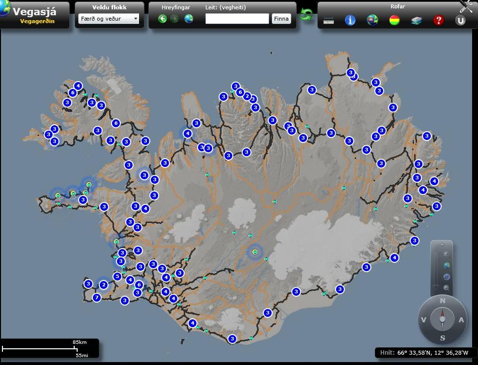 WEBCAMS AROUND ICELAND