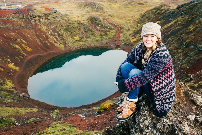 Visiting Kerið Crater in South Iceland